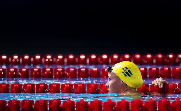 Michelle Coleman lyckades inte att ta sig vidare till finalen på 100m fritt damer ikväll.