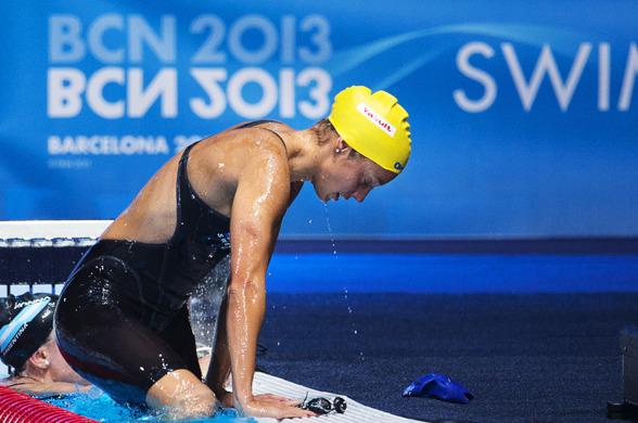 Joline Höstman misslyckades i sin målsättning att gå till final på 200m bröstsim. Det blev inte ens semifinal kan man konstatera efter dagens försökstävlingar.
