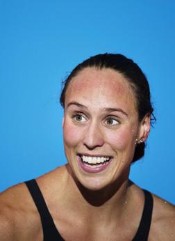 Rikke Möller Pedersen slog världsrekord på 200m bröstsim ikväll.