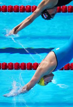 Sjöström startar på 100m fritt i dagens försökstävlingar