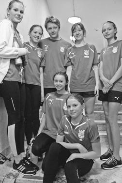 Simmare från Örebro SA som tävlar i Västerås.
