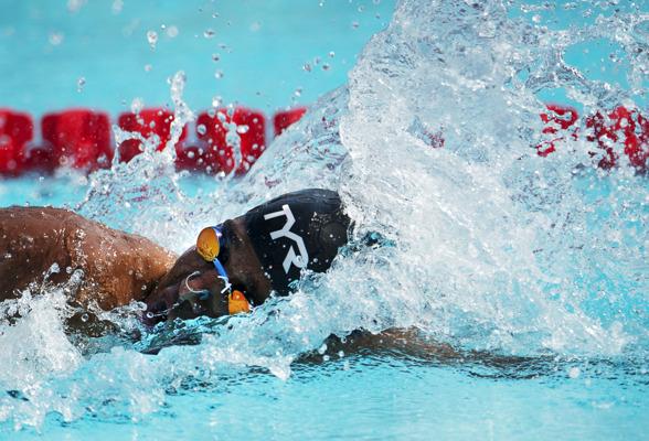 Bra formbesked av Sjödin på 200m medley gav SM-guld och slog ett nytt Mästerskapsrekord.