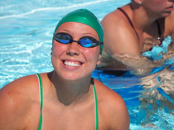 Emma Svensson, Uppsala - simmar final 50m fritt.