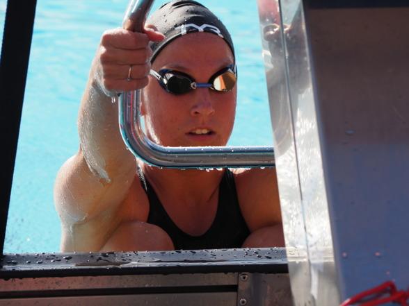Ida Lindborg - segrarinna på 100m ryggsim
