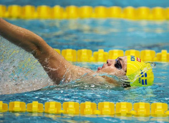 Kristian Kron lyckades bäst av svenskarna i dagens finalpass i Gwangju. Han blev 12:e man på 200m ryggsim.