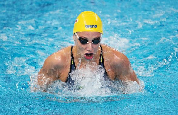 Jennie Johansson gick till semifinal på 100m bröstsim