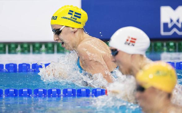 Trea vid 50 - sjua i mål - tiondelen över personliga rekordet för Jennie Johansson