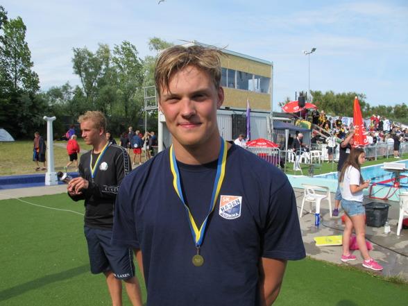Segraren i äldsta klassen Petter Fredriksson, SK Hajen Lomma