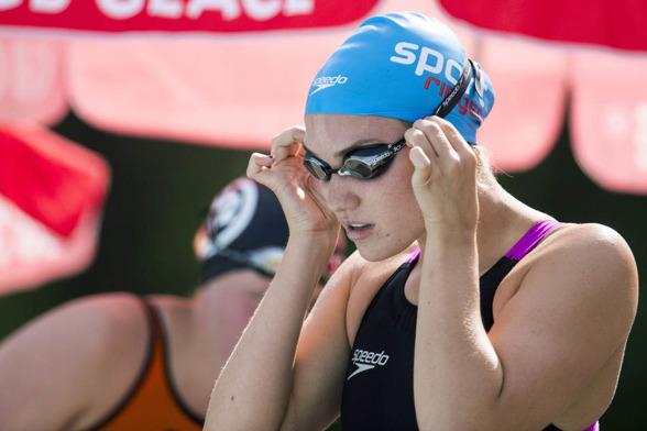 Alba Forés vann 800m fritt i äldsta klassen