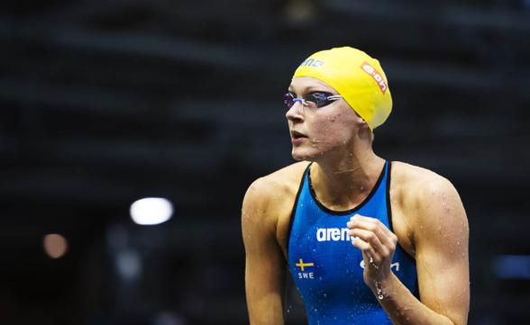 Sarah Sjöström till final som etta på 50m fritt