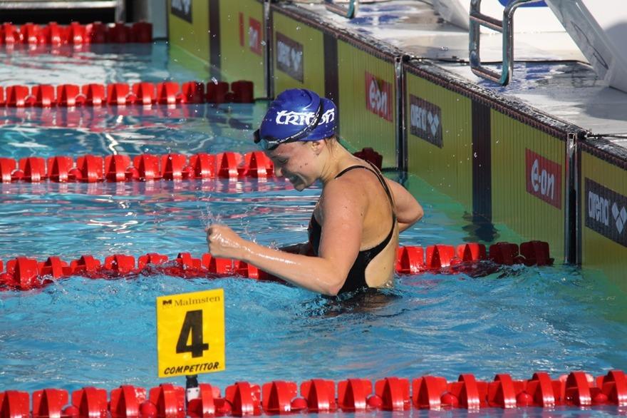 Dagens Sum-Sim rekord slogs Alba Forés, Triton