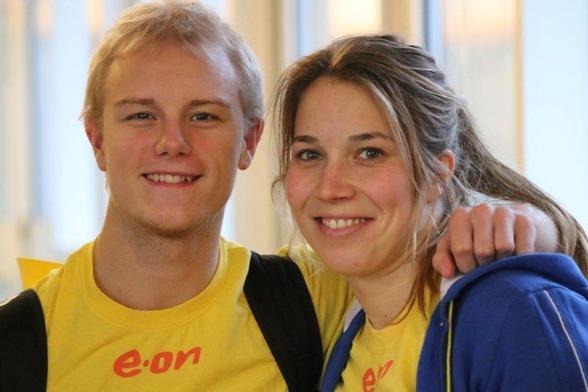Jesper Tolvers och Daniella Nero avslutade sina respektive SM-tävlingar 2015 med ett varsitt guld.