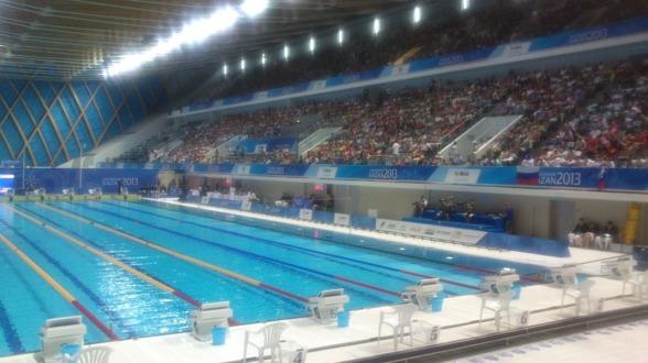 I kväll simmas det sista finalpasset på Universiaden i Kazan.
