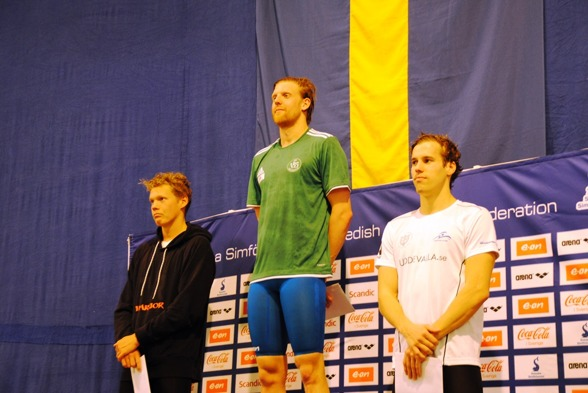 Prispallen 400m medley herrar