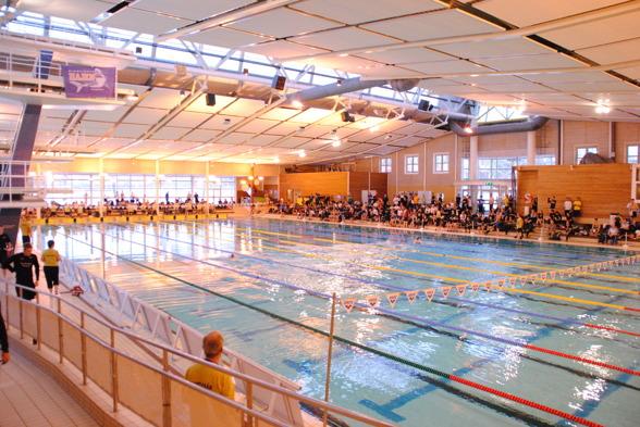 Fyrishovsbadet i Uppsaka är helgens värdar för GP 1 tillsammans med Upsala SImsällskap