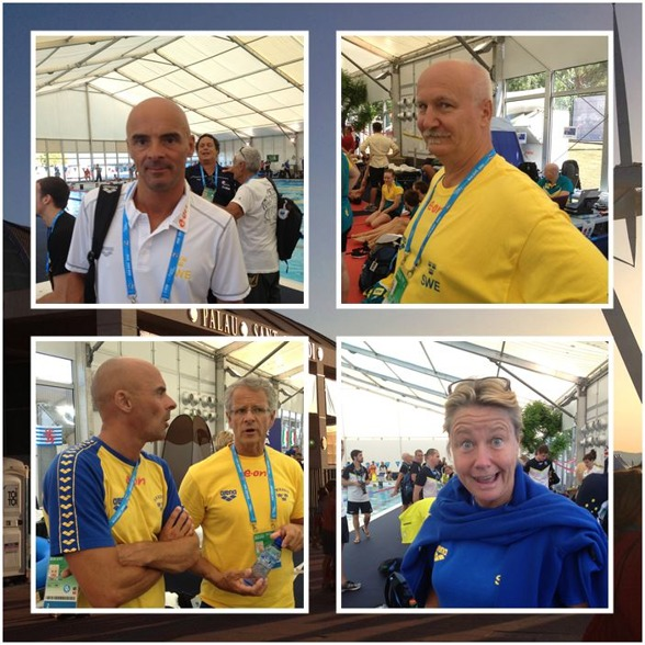 Svenska tränare och ledare i Barcelona.