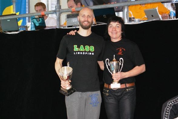 Bästa prestationer under SM till Lars Frölander och Maria Norberg bägge med världsrekord.