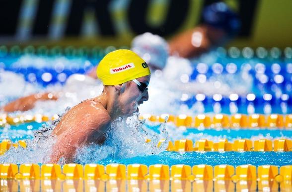 Jennie Johansson stod för det femte svenska rekordet under VM. 50m bröstsim och 30.55