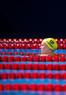 Dagens Sarah - till semifinal på 50m fritt med 24.99