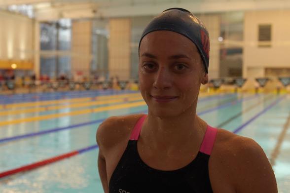 Joline Höstman vann 100m bröästsim damer