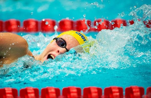 Louise Hansson vann 400m fritt