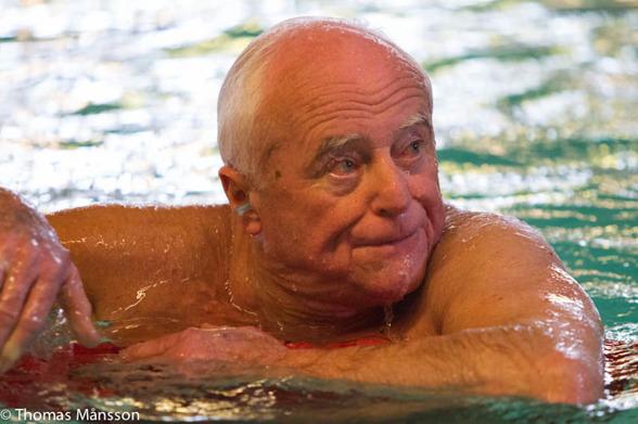 Tamas Barossy, tävlingarnas äldste herre - född 1928 - 85 år !