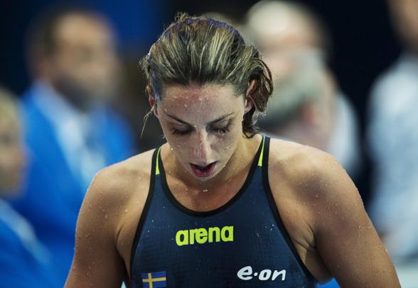 Bra simning av Jennie Johansson också i semifinalen idag. Medaljchans imorgon på 50m bröstsim