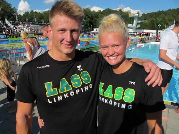 Kusinerna Ocar och Wilma Ekström från LASS-Linköping kvalade bägge in i EM-truppen.
