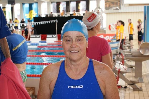 Margareta Rainer  slog nordiskt rekord i 65-69-klassen