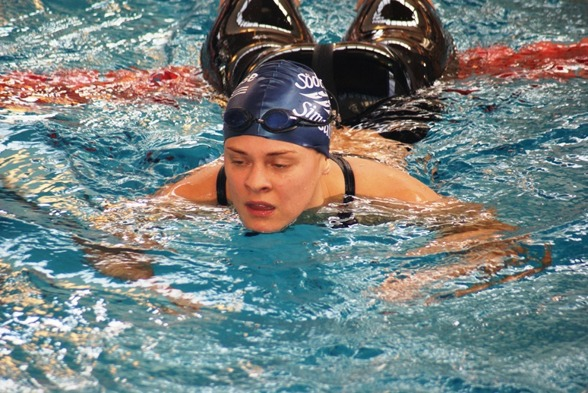 Fanny Lillieström slog rekord - svenskt sådant i 25-29-klassen