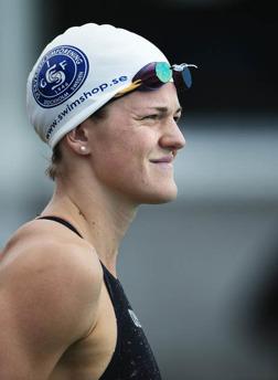 Stina Gardell svensk mästarinna på 400m medley
