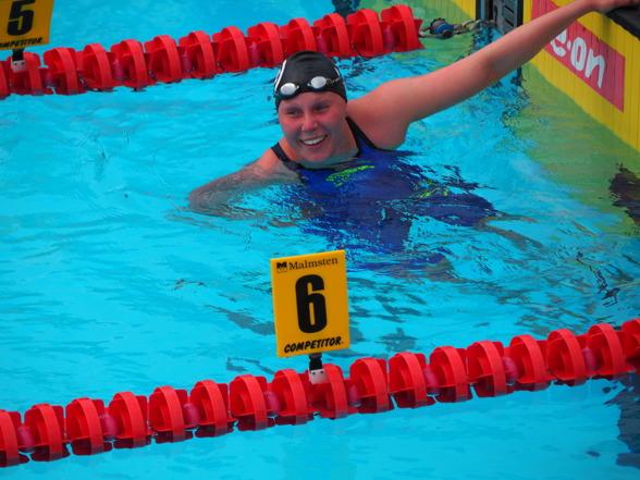 Erica Dahlgren vann SM på 1500m fritt