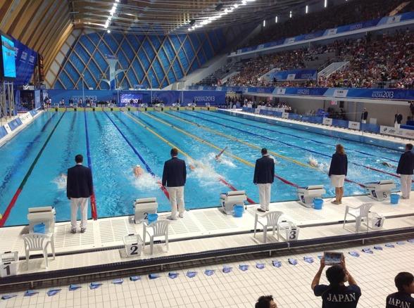 Vladimir Morozov simmade riktigt fort på 100m fritt i kvällens finaler på Universiaden - 47.62