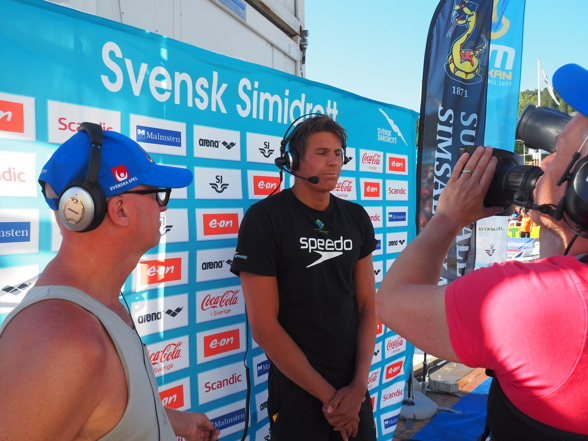 Segraren Christoffer Carlsen - från Mölndals ASS