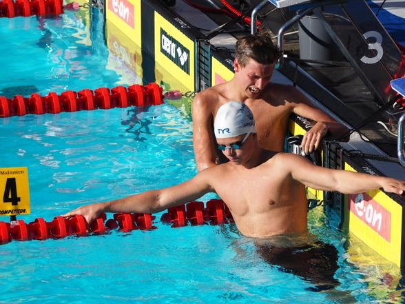 Victor Johansson vann också 800m fritt