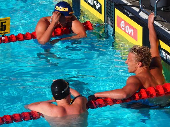 Tre medaljörer - Mattias Carlsson - Petter Fredriksson - Fabian Bergman