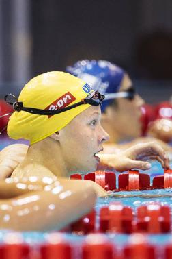Louise HAnsson slog personligtr rekord på 200m medley men gick inte vidare till finalen. Men det var inte långt borta!