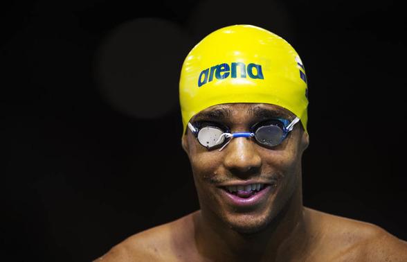 Simon Sjödin snabbaste svensk på 100m fjärilsim