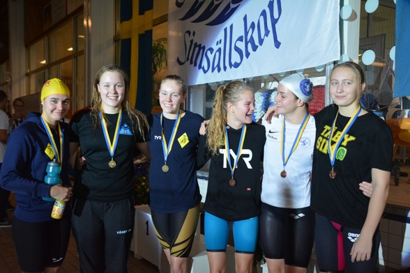 Stockholm: Prispallen från Stockholmsdistriktet.