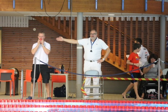 Tävlingsledaren i Skellefteå är Håkan Westrin