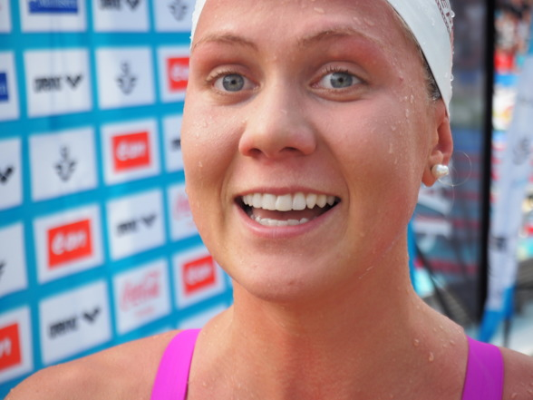 Henriette Stenkvist vann sitt andra SM-guld på 200m ryggsim - det första kom för fyra år sedan!!!
