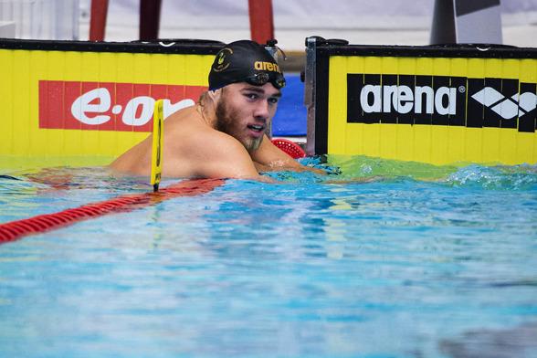 Johannes Skagius från Sundsvall tillhör herrsidan av svensk simning som just nu ser ut att lyftas ur en lång vågdal.