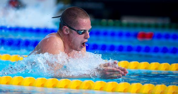 Erik Persson vann 200m bröstsim herrar