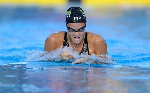 Vilma Ekström EM-kvalade på 200m bröstsim