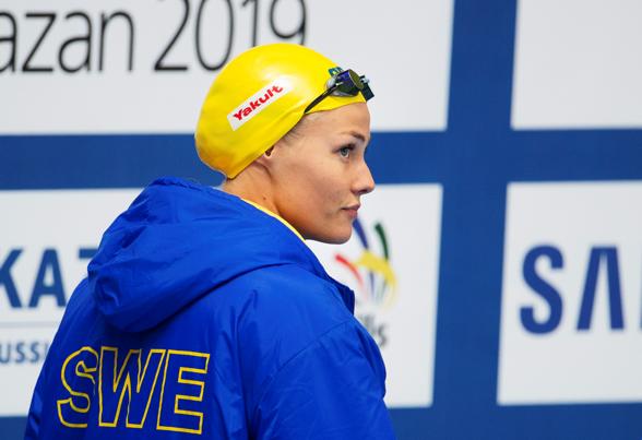 Michelle Coleman gick vidare till semifinalen på 100m fritt