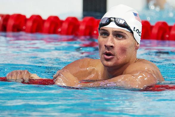 Ryan Lochte är favoriten på 200m medley. Semin simmas i kväll.