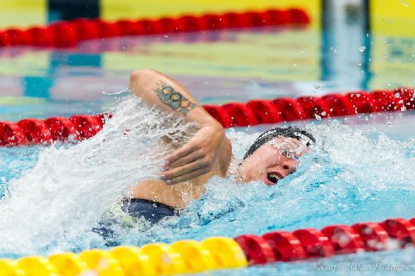 Sarah Sjöström - seger på 100m fritt