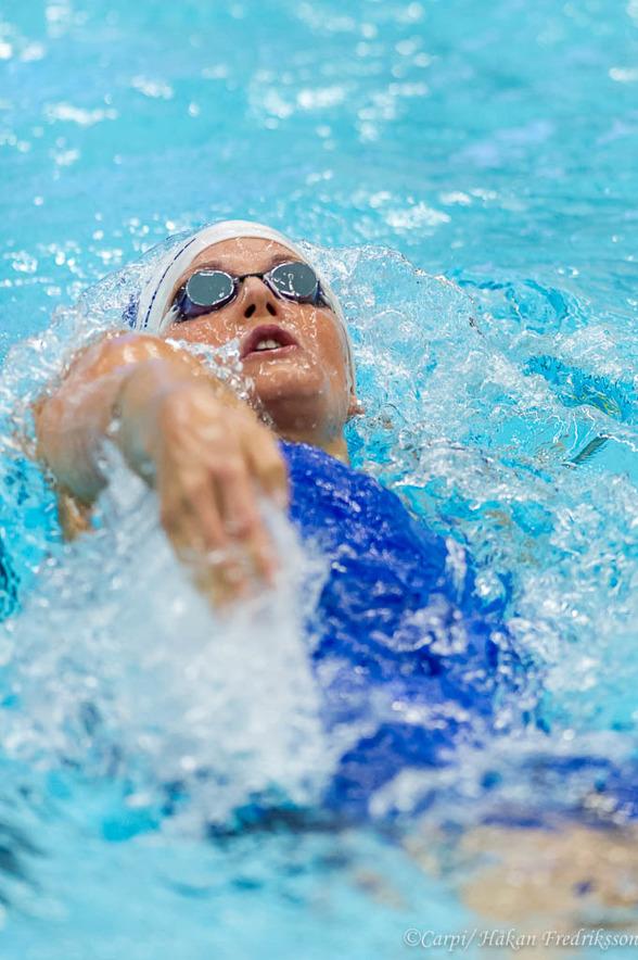 Stina Gardell vann 400m medley