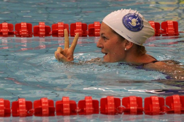 Stina Gardell vann 400m medley damer