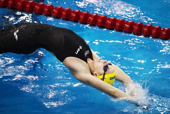 Ida Lindborg simmade sekunden över sitt personliga rekord på 200m ryggsim och blev bara 31:a på 200m ryggsim